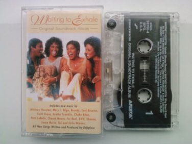 R&B) Whitney Houston Waiting To Exhale Mint HX PRO Cassette