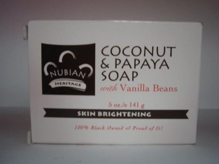 Nubian Heritage Coconut Papaya w/vanilla bean