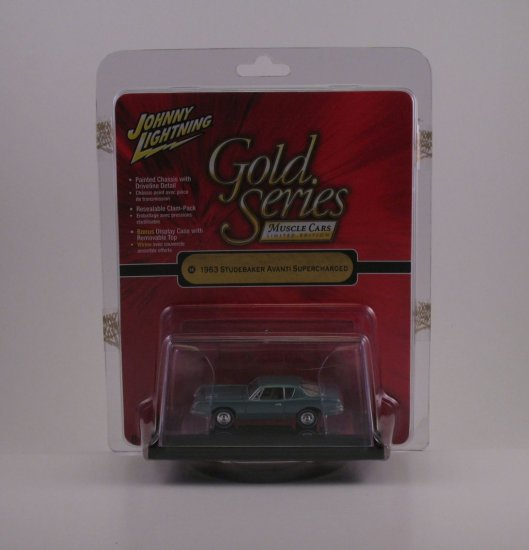 Johny Lightning Gold Series 1:64 - 1963 Studebaker Avanti