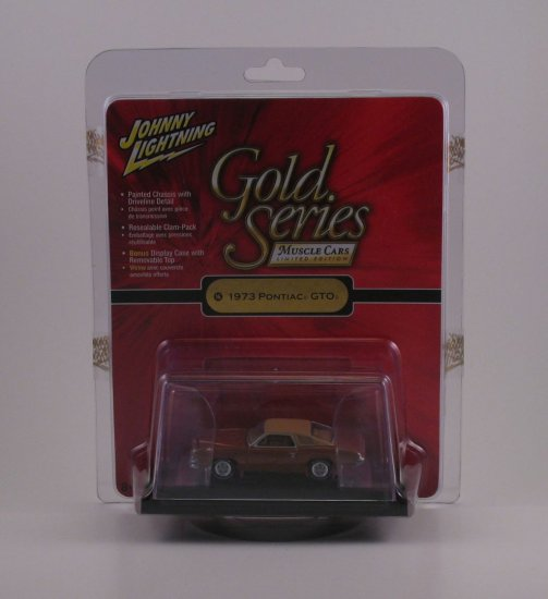 Johnny Lightning Gold Series 1:64 - 1973 Pontiac GTO