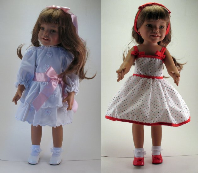 Euro Girl 18 Inch All Vinyl Doll With 4 Outfits