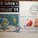 Space cover.Peenemunde Apollo 11 card