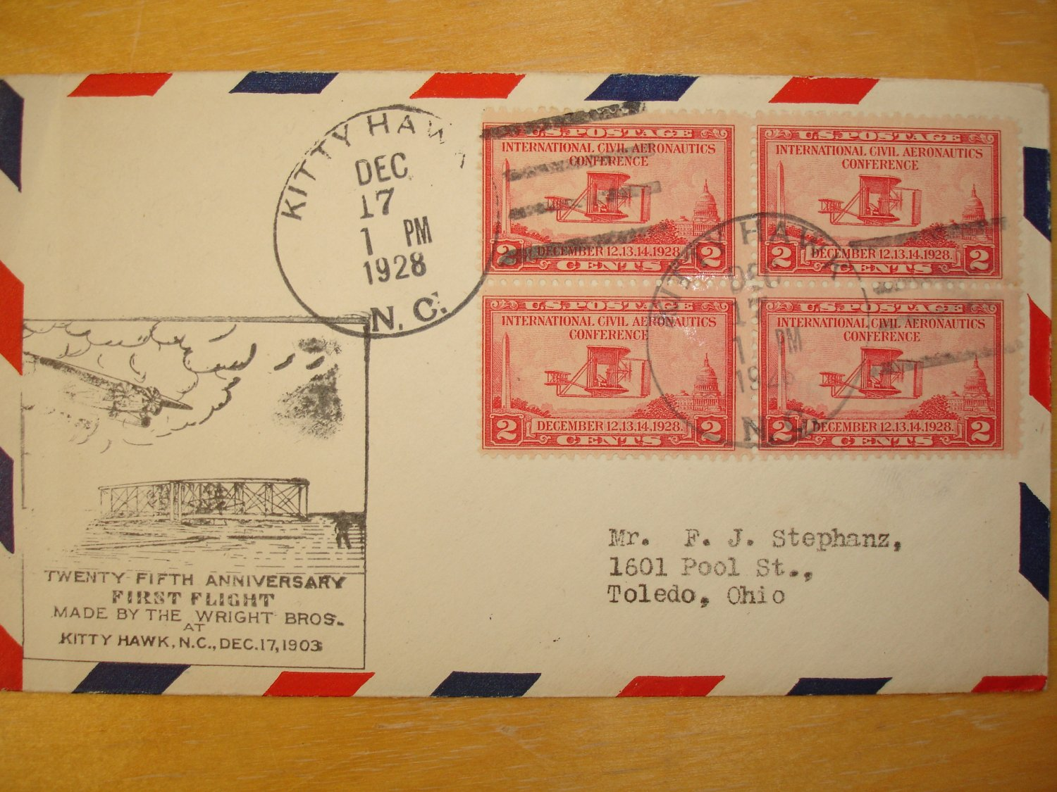 Flight Cover Wright Brothers