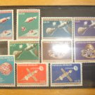 Project Gemini Space stamps