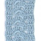 Hand-Crocheted Bookmark - 003 - Williamsburg Blue
