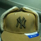 NEW ERA HAT CAP FITTED NEW YORK YANKEES KIDS BEIGE Floppy Ears 6 3/8 NWT