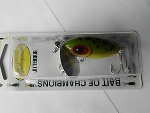 Arbogast Lure Jitterbug Floating Frog 1/4oz Topwater Bass Fishin Bait Tackle NEW