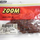 "ZOOM Bait Company Super Salt 4"" Mini Lizards Soft Baits Bass Lures Pumpkin NEW"