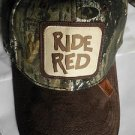 HONDA RIDE RED Hat MOSSY OAK CAMO Hat Cap LICENSED 1 size Fits ATV TRX HAT NEW