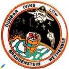 Vintage NASA Space Shuttle Columbia flight STS-32 Pin Dunbar Ivins Low MINT LOOK