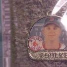 BOSTON RED SOX Keith Foulke 2005 Pendant Charm Baseball Player NIP Wow!