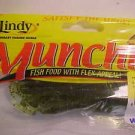 """Lindy Munchies Soft Baits Lures 3"""" Worms Watermelon NEW PK @ Greatbass"""