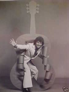 Vintage Mac Davis Show Photo Real TV Press Star 70's Photograph LOOK Nice LwShp