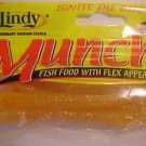 "Lindy Munchies Baits Lures 3-3/4"" Worms Glo-w Pink Great 4 Bass NEW"