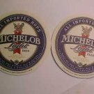 8 Michelob Light Lager Beer Bar Glass Coasters Mat LOOK Nice NEW