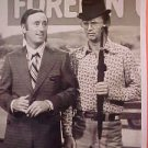 Dick Martin,Charles Nelson Reilly Real Old TV Press Photo-graph Rowan Martins