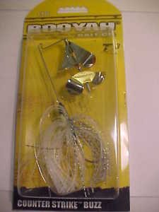 Booyah Counter Strike Buzz Bait 1/4oz Glimer Shad Bass Fishing Lure NEW
