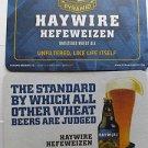 6 HayWire Beer Bar Coasters Mats Pyramid Brewery Co. Coaster Nice Look LowShip