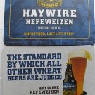 2 HayWire Beer Bar Coasters Mats Pyramid Brewery Co. Coaster Nice Look LowShip