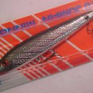 Rebel Lure Jumpin Minnow T10 Silver Black TopWater Jerk Bait GreatBass Lure NEW*