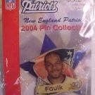 Kevin Faulk 33 New England Patriots 2004 Pin Lapel NFL Football NiP