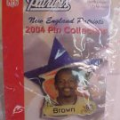 Troy Brown #80 New England Patriots 2004 Pin Lapel NFL FootBall NiP