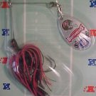 Vintage Tampa Bay Buccaneers Spinner Bait Lure NFL Football Fishing Tackle NOS