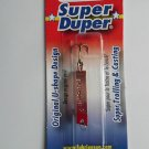 Luhr Jensen Super Duper Spoon Jig Bait Lure Copper Red Pan Ice Fishing Lure NEW