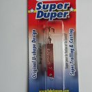 Luhr Jensen Super Duper Spoon Jig Bait Lure Copper Red Trout Fishing Lure 502NEW