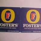 8 Foster's Australian Beer Bar Can Coasters Mat LOOK!!