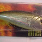 BLAZE Lure Topwater POP R Rattlin Popper Bass Fishing Spitin Baits Silver NIP