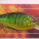 """BLAZE Lure Fire TIGER SHAD Crank-Bait Bass Diving Rattle-In"""" Fishing Lure NIP"""