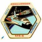 Vintage NASA Challenger Space Shuttle STS-6 1983 WEITZ BOBKO PETERSON MUSGRAVE_*