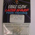 Eagle Claw Treble Hooks 4 Bass Fishing Lures size 4 Tackle NEW