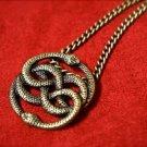 Neverending Story Auryn Pendant - Gold Tone (Atreyu's Pendant)