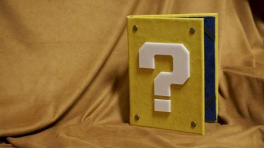 Mario Bros Question Block Cover IPad / Tablet / Kindle / EReader Custom Cover