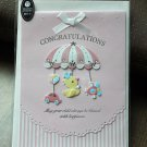 New Baby Card (for girl)