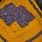 Bright and Cheerful Cradle Blanket