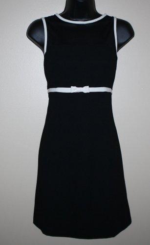 Rampage  Little Black Dress White Trim MOD 9