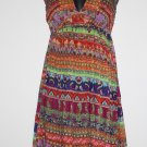 Funky People Sun Dress M   Empire Waist NWT