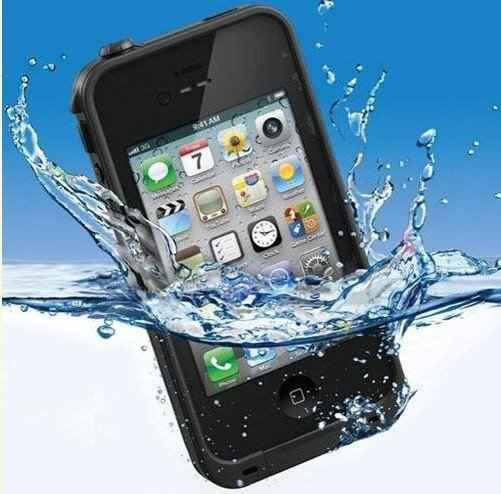 Make Your Apple iPhone 4 4S Like Xperia Z With Waterproof Shockproof Dirt Proof Durable Case Cover