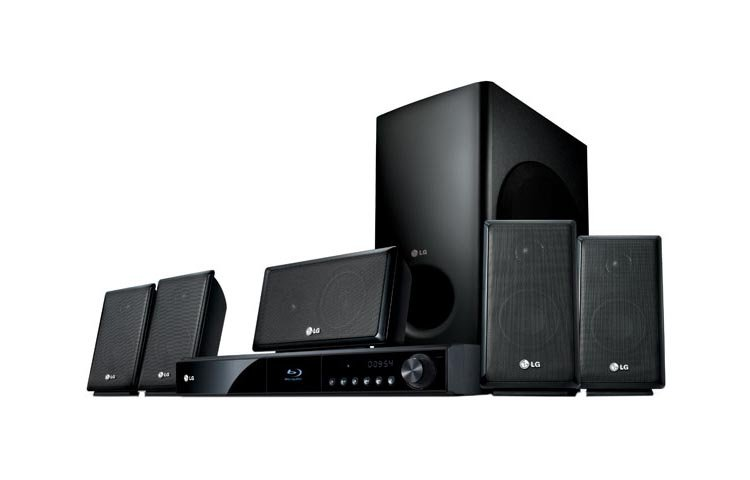 Buy LG Home Audio - LG LHB335 Home Theater Speaker System w/ Subwoofer Blu-ray FM Streami