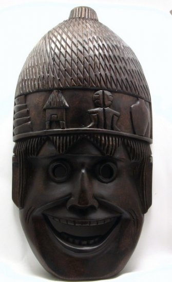 Ifugao Harvest Wood Mask