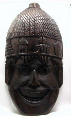 Ifugao Harvest Wood Mask