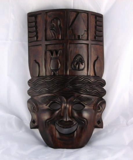 Banaue Harvest Wood Mask