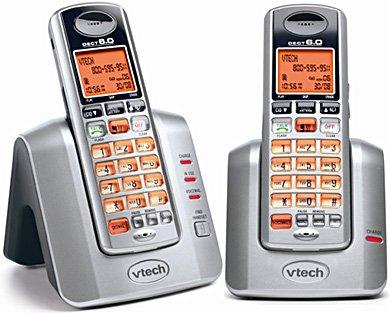 VTECH 3111 Cordless Phone (2 Dual Handset DECT 6.0)