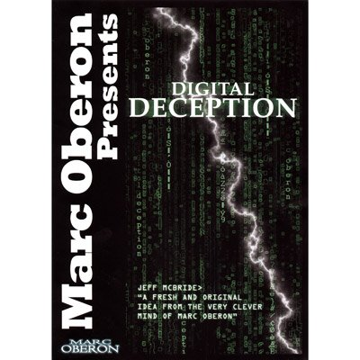 Digital Deception (With DVD) by Marc Oberon