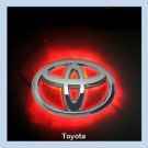 Toyota Corolla 08 LED Car Decal Logo Tail Light Badge Emblem Sticker Lamp Red