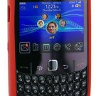 Genuine BlackBerry Gemini 8520 8530 Curve 3G 9300 Silicone Skin Case Cover - RED