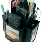 Picture Frame REMOTE TV GUIDE Mail Desk Table SPINNING ORGANIZER Storage Caddy